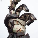 【Pre Order】LEVEL 52 STUDIOS x Ashley Wood  CORNELIUS AND THE FIGHT OF THE NEXT Resin Statue Deposit