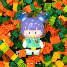 【In Stock】GabriellaWorkshop Little Bear Brother Cos Buzz Lightyear Figure Toy