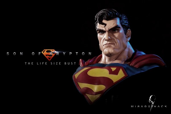 【Pre order】Mirage Hack Studio DC SupermanSon of Earth Clark 1:1 Life Size Bust Deposit