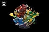 【In Stock】MFC Studio Pokemon GBA vol.3 Aeroamphibious Rayquaza Kyogre Resin Statue