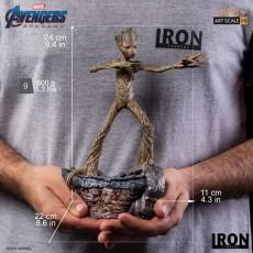 【Pre Order】Iron Studio Groot BDS Art Scale 1/10 - Avengers: Endgame Deposit