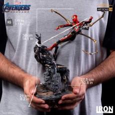 【Pre order】Iron Studio Iron Spider Vs Outrider BDS Art Scale 1/10 - Avengers: Endgame Deposit