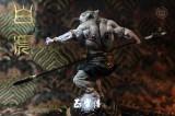 【Pre order】Luck Monkey Five Saint Beasts The White Tiger Warrior Resin Stautes Deposit