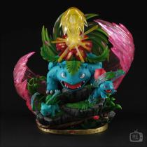 【Pre order】Re Studio Pokemon Bulbasaur to Venusaur Resin Statue Deposit
