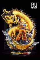 【In Stock】RU Studio Dragonball Z SSJ3 Goku Dragon Fist Resin Statue
