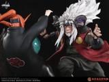 【Pre order】CHIKARA STUDIO Naruto Jiraiya Fighting 1:6 Resin Statue Deposit