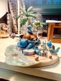 【In Stock】M5 Studio Pokemon Blastoise island Resin Statue