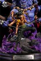 【In Stock】Soul Maker Studio One-Piece Roronoa Zoro Nine Knives Flow 1:6 Scale Resin Statue