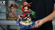 【Pre order】XBD Studio Dragon Ball Z Pirate Goku Childhood Resin Statue Deposit