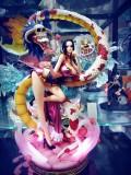【In Stock】F3 Studio One-Piece Boa Hancock Damage Clothing 1:6 Resin Statue
