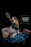 【In Stock】CO Signature DC Fat Aquaman Chubby Mum Mum Resin Statue
