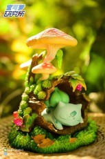 【In Stock】Pokemon Research Laboratory Sleeping Bulbasaur Resin Statue