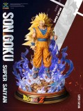 【Pre order】MX Studio Dragon Ball Z Goku SSJ3 Resin Statue Deposit