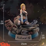 【Pre order】Practice Studio Dragon Ball Z Sexy Android 18  1:8 Scale Resin Statue Deposit