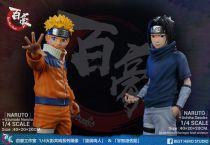 【Pre order】Best Hero Studio Naruto Kakashi Team Sasuke 1:4 Scale Resin Statue Deposit