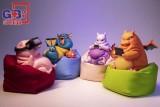 【In Stock】GB Studio Fat Mewtwo&Charizard&Mew&Gyarados Resin Statue