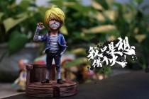 【Pre order】Five Studio One-Piece Sky Piea Sanji SD Scale Resin Statue Doposit