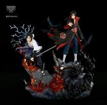 【Pre order】UT Studio Naruto Uchiha Itachi&Sasuke 1/7 Scale Resin Statue Deposit