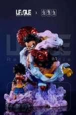 【In Stock】League Studio One Piece Gear 4 Luffy Wcf Scale Resin Statue