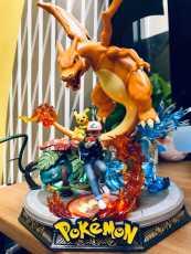 【In Stock】GD Studio Pokemon Royal three in arena  Resin Statue