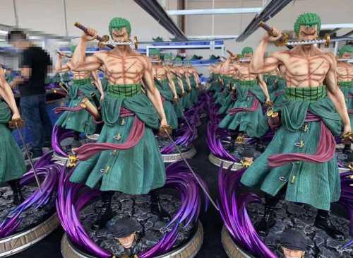 Dream Studio One Piece Roronoa Zoro 1:5 scale resin estatua-réplica!