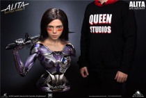 【Pre order】Queen Studio Alita: Battle Angel Life size Bust Resin Statue Deposit(Copyright)