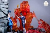 【Pre order】Long Yuan Ge Naruto Uchiha Itachi&Sasuke  Resin Statue Deposit