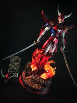 【In Stock】F.O.C Studio YoroiDen-Samurai Troopers Ronin Warriors God of Fire 真田 遼 Resin Statue