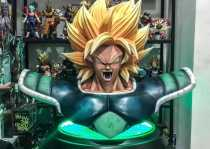 【Pre Order】WUKONG Studio Dragon Ball Super Broly Bust Resin Statue Doposit