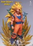 【In Stock】Model Palace Studio Dragon Ball Goku Super Saiyan3 1:4 Resin Statue