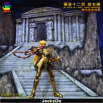【Pre order】JacksDo Saint Seiya the zodiac constellations JK.Scene-30 Ⅵ BOX Zodiac Virgo Diorama Resin Statue Deposit