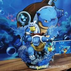 【In Stock】EGG-Studio Pokemon Blastoise Family Resin Statue