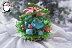 【In Stock】EGG-Studio Pokemon Venusaur Family Resin Statue