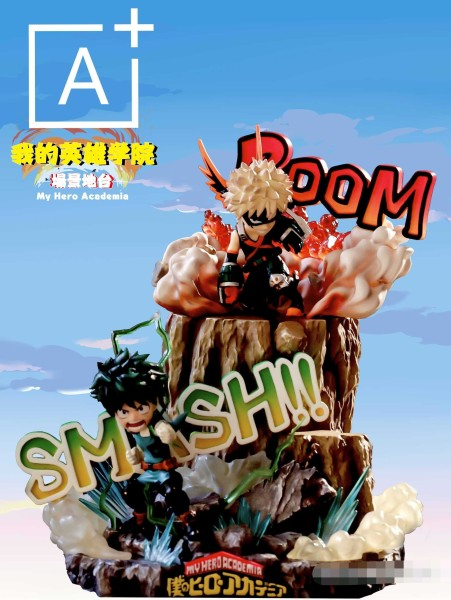 【In Stock】A+ Studio My Hero Academia Trainning camp base Resin Statue