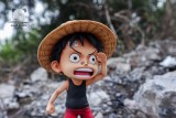 【Pre order】Emoji studio One-PieceOne-Piece Monkey D Luffy looking for somebody SD Scale Resin Statue Deposit