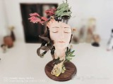【In Stock】YuanXingLiang The Spring Peach blossom Island 1/6 Scale Resin Statue