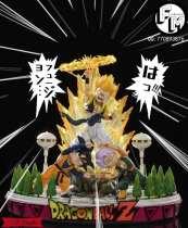 【Pre order】F. M. Studio Dragon Ball Z Saviour Gotenks Resin Statue Deposit