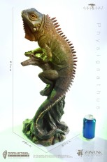 【In Stock】Zen punk 禅朋克& DarkSteel Toys Ancient Spirits Physignathus resin statue