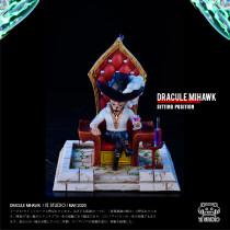 【Pre order】YZ Studio One Piece Dracule Mihawk WCF Sitting Positon Castle Scene series  Resin Statue Deposit