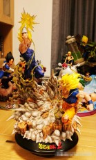 【In Stock】Infinity Studio Vegeta vs Goku SSJ2 1:6 Scale Resin Statue (Copyright)