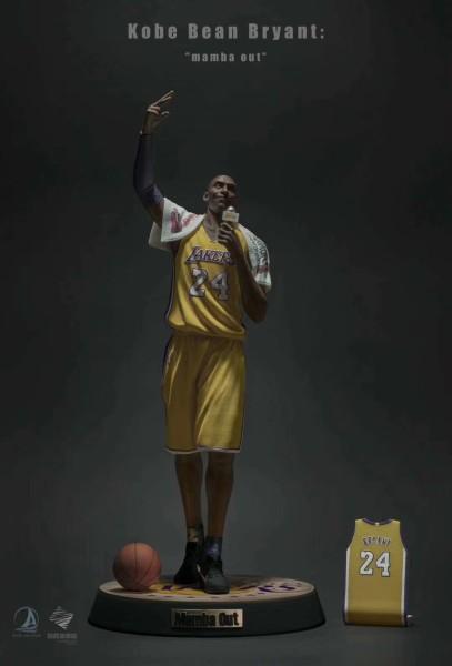 【Pre order】Ark studio NBA Series Kobe Bean Bryant:mamba out Resin Statue Deposit