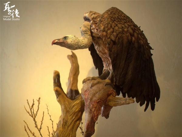 【Pre Order】Original Model Studio The Gyps Vultures Resin Statue Deposit