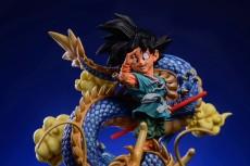 【In Stock】LeaGue Studio Dragon Ball Goku Goodbye Dragon Ball  WCF Resin Statue