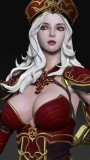 【In Stock】Faceted Pebble Studio WOW Warcraft3/Dota Sally Whitemane Resin Statue