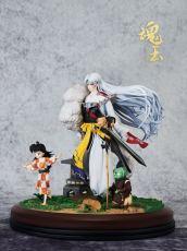 【In Stock】HUNYU Studio Inuyasha Sesshoumaru RIN Jaken 1/7 Scale Resin Statue