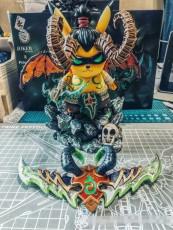 【In Stock】Joker Studio &Peter.P Studio Warcraft WOW No.001 Pikachu Cosplay illidan Resin Statue