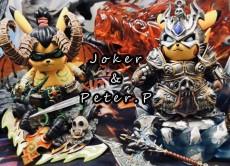 【In Stock】Joker Studio &Peter.P Studio Warcraft WOW No.002 Pikachu Cosplay Arthas Resin Statue
