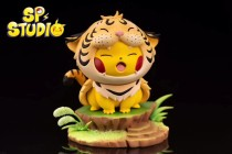 【Pre order】SP STUDIO Animal Forest Pikachu Cosplay Tiger Resin Statue Deposit