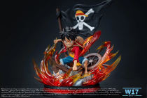 【Pre order】W17 Studio One-Piece Luffy two years after WCF Resin Statue Deposit