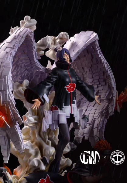 【In Stock】CW&Surge Studio Naruto Peace Pain&Konan 1:7 Resin Statue